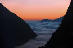 Περιοχή Annapurna στο Νεπάλ Himalayan Στοκ Φωτογραφίες