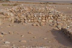 Περιοχή Archeological κοντά σε Eilat Στοκ εικόνες με δικαίωμα ελεύθερης χρήσης
