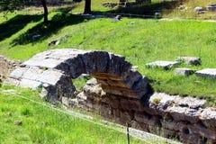 Περιοχή Archeological στην Ολυμπία Στοκ Εικόνα