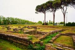 Περιοχή Archeological Aquileia Στοκ εικόνες με δικαίωμα ελεύθερης χρήσης