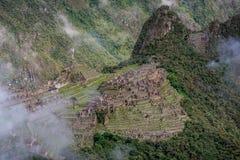 Περιοχή Archeological Machu Picchu, Περού Στοκ Εικόνα