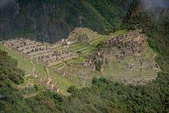 Περιοχή Archeological Machu Picchu, Περού Στοκ φωτογραφία με δικαίωμα ελεύθερης χρήσης