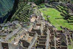 Περιοχή Archeological Machu Picchu, Περού Στοκ Φωτογραφία