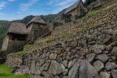 Περιοχή Archeological Machu Picchu, Περού Στοκ εικόνες με δικαίωμα ελεύθερης χρήσης