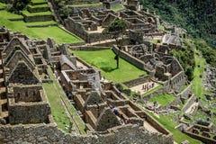Περιοχή Archeological Machu Picchu, Περού Στοκ εικόνα με δικαίωμα ελεύθερης χρήσης