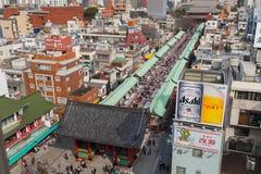 Περιοχή Asakusa Στοκ φωτογραφία με δικαίωμα ελεύθερης χρήσης