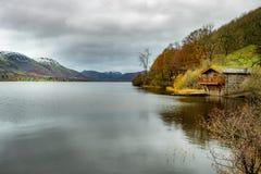 Περιοχή Boathouse λιμνών στοκ φωτογραφίες με δικαίωμα ελεύθερης χρήσης