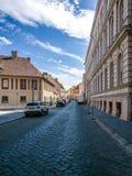 Περιοχή Buda στη Βουδαπέστη, Ουγγαρία Στοκ φωτογραφία με δικαίωμα ελεύθερης χρήσης