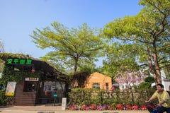 Περιοχή Fengying σπιτιών δέντρων του Ταϊνάν Anping, Ταϊνάν, Ταϊβάν Στοκ Φωτογραφίες