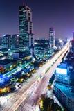 Περιοχή Gangnam στη Σεούλ Στοκ φωτογραφίες με δικαίωμα ελεύθερης χρήσης
