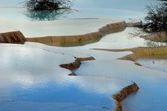 περιοχή huanglong φυσική Στοκ εικόνα με δικαίωμα ελεύθερης χρήσης