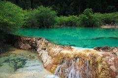 περιοχή huanglong φυσική Στοκ εικόνες με δικαίωμα ελεύθερης χρήσης
