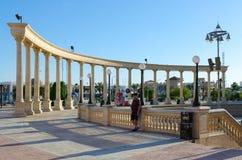 Περιοχή IL Mercato επιχειρήσεων και αγορών και ψυχαγωγίας σε Hadaba, Sheikh Sharm EL, Αίγυπτος Στοκ φωτογραφία με δικαίωμα ελεύθερης χρήσης