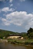 Περιοχή NaJing tulou Fujian στην Κίνα Στοκ φωτογραφία με δικαίωμα ελεύθερης χρήσης