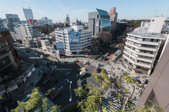Περιοχή Omotesando, Τόκιο - Ιαπωνία στοκ εικόνες