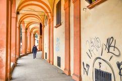 Περιοχή Romagna Emlia - της Μπολόνιας - μέσω του saragozza Στοκ Εικόνες