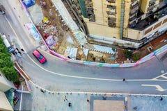 Περιοχή Yangjiaping Chongqing Στοκ εικόνες με δικαίωμα ελεύθερης χρήσης