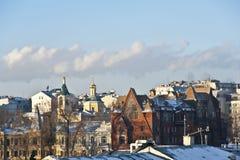 Περιοχή Zamoskvorechye Στοκ εικόνα με δικαίωμα ελεύθερης χρήσης