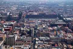 Περιοχή Zocalo της Πόλης του Μεξικού Στοκ εικόνες με δικαίωμα ελεύθερης χρήσης