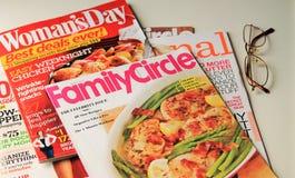 Περιοδικά για τις κυρίες Στοκ Εικόνες