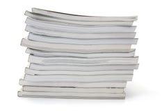 περιοδικά που συσσωρεύ στοκ φωτογραφία