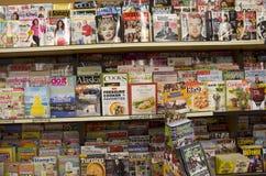 Περιοδικά στο κατάστημα στοκ φωτογραφία με δικαίωμα ελεύθερης χρήσης
