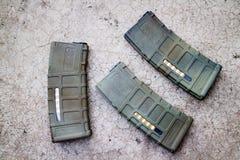 Περιοδικό πυροβόλων όπλων Airsoft Στοκ φωτογραφίες με δικαίωμα ελεύθερης χρήσης
