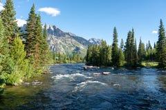Περιπέτεια βουνών του Ουαϊόμινγκ στοκ φωτογραφίες με δικαίωμα ελεύθερης χρήσης