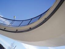 περιπατητές γεφυρών Στοκ Φωτογραφία