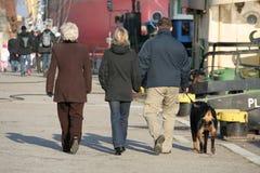 περιπατητές Στοκ φωτογραφία με δικαίωμα ελεύθερης χρήσης
