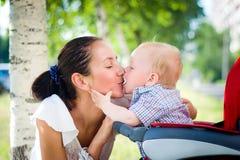 περιπατητής μωρών Στοκ Φωτογραφίες