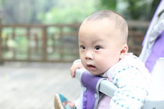 περιπατητής μωρών Στοκ εικόνα με δικαίωμα ελεύθερης χρήσης