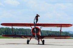 Περιπατητής φτερών της Carol Pilon στοκ εικόνα