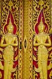Περιποίηση Ταϊλάνδη πορτών. στοκ εικόνα