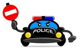 Περιπολικό της Αστυνομίας διανυσματική απεικόνιση