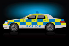 Περιπολικό της Αστυνομίας Στοκ εικόνες με δικαίωμα ελεύθερης χρήσης