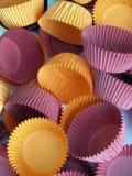 περιπτώσεις cupcake στοκ εικόνες με δικαίωμα ελεύθερης χρήσης