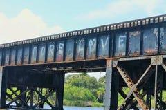 Περισσότερα γκράφιτι αγάπης Στοκ Φωτογραφίες