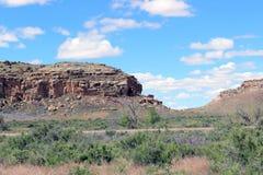 Περισσότεροι απότομοι βράχοι σε Chaco Στοκ εικόνα με δικαίωμα ελεύθερης χρήσης