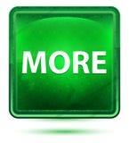 Περισσότερο ανοικτό πράσινο τετραγωνικό κουμπί νέου απεικόνιση αποθεμάτων