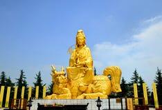 Περισσότερο από περίπου πριν από 1700 χρόνια, η Κίνα xian ο ναός Buddh Στοκ Φωτογραφίες