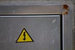 περισσότερο η προειδοποίηση σημαδιών σημαδιών χαρτοφυλακίων μου Στοκ φωτογραφίες με δικαίωμα ελεύθερης χρήσης