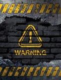 περισσότερο η προειδοποίηση σημαδιών σημαδιών χαρτοφυλακίων μου Στοκ εικόνες με δικαίωμα ελεύθερης χρήσης