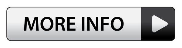 Περισσότερο κουμπί πληροφοριών ελεύθερη απεικόνιση δικαιώματος