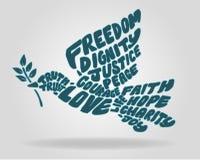 Περιστέρι ειρήνης Στοκ εικόνες με δικαίωμα ελεύθερης χρήσης