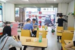 Περιστασιακά εστιατόρια Στοκ Φωτογραφία