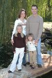 περιστασιακή οικογένει Στοκ εικόνα με δικαίωμα ελεύθερης χρήσης