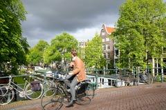 Οδός του Άμστερνταμ Στοκ Εικόνες