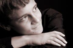 περιστασιακός έφηβος στοκ φωτογραφία