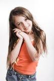 περιστασιακό κορίτσι φορεμάτων λίγα Στοκ φωτογραφίες με δικαίωμα ελεύθερης χρήσης